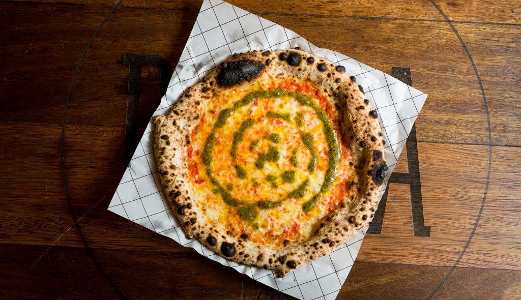 Pizza Pesto de Baru
